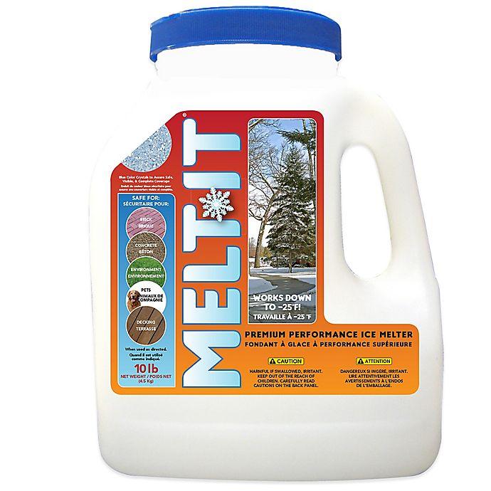 Alternate image 1 for Melt It® Ice Melt 10 lb. Jug
