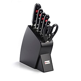 Wusthof® Classic 7-Piece Mobile Knife Block Set in Black