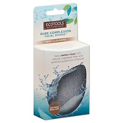 Ecotools® Pure Complexion Facial Sponge in Charcoal