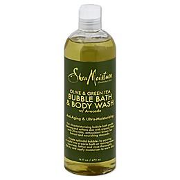 SheaMoisture® 16 fl. oz. Bubble Bath and Body Wash in Olive/Green Tea