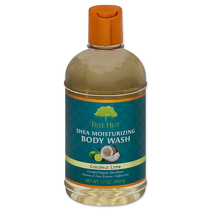 Alternate image 1 for Tree Hut® 17 oz. Shea Moisturizing Body Wash in Coconut Lime