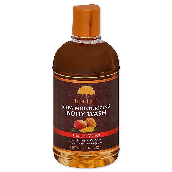 Alternate image 1 for Tree Hut® 17 oz. Shea Moisturizing Body Wash in Tropical Mango