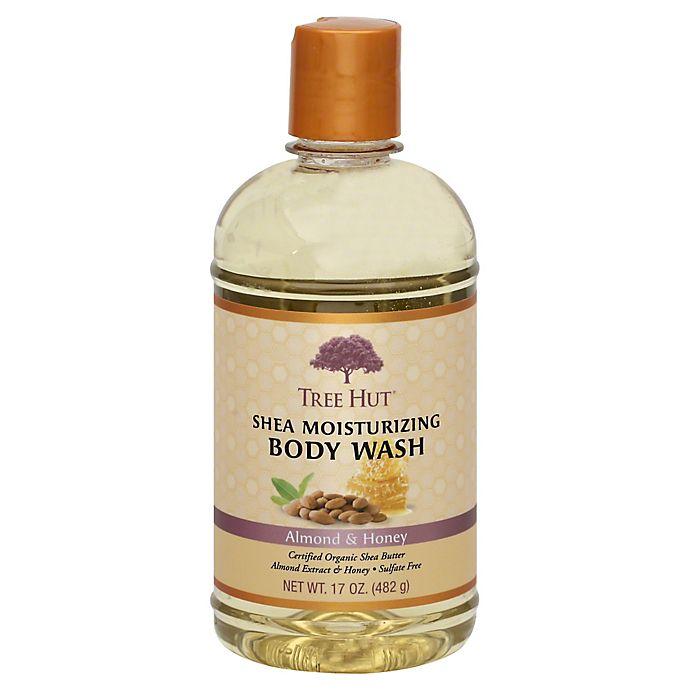 Tree Hut 17 Oz Shea Moisturizing Body Wash In Almond And Honey Bed Bath Beyond