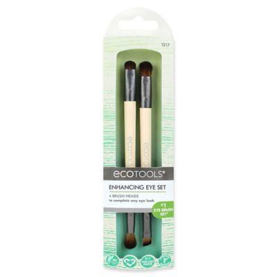 ecotools® eye enhancing duo brush set  bed bath  beyond