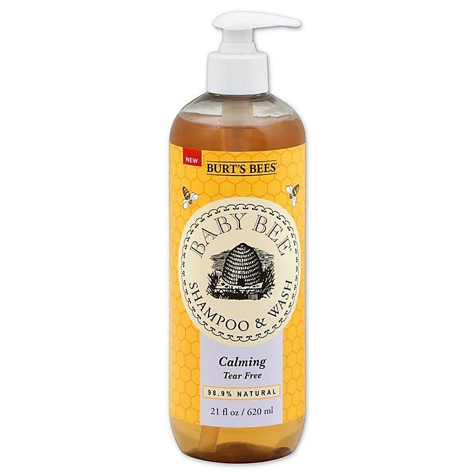 Alternate image 1 for Burt's Bees® Baby Bee® 21 oz. Calming Shampoo & Wash