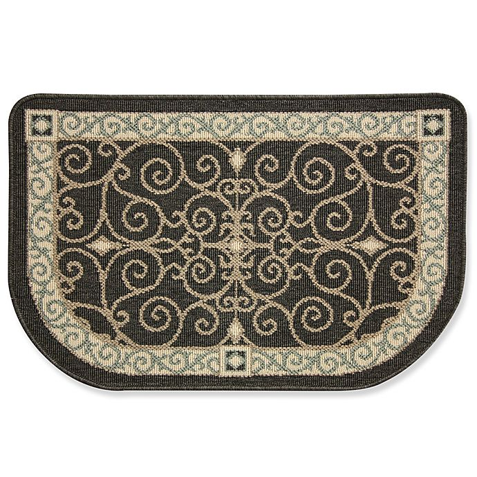 Bacova Eastly Midnight 22-Inch X 35-Inch Kitchen Rug