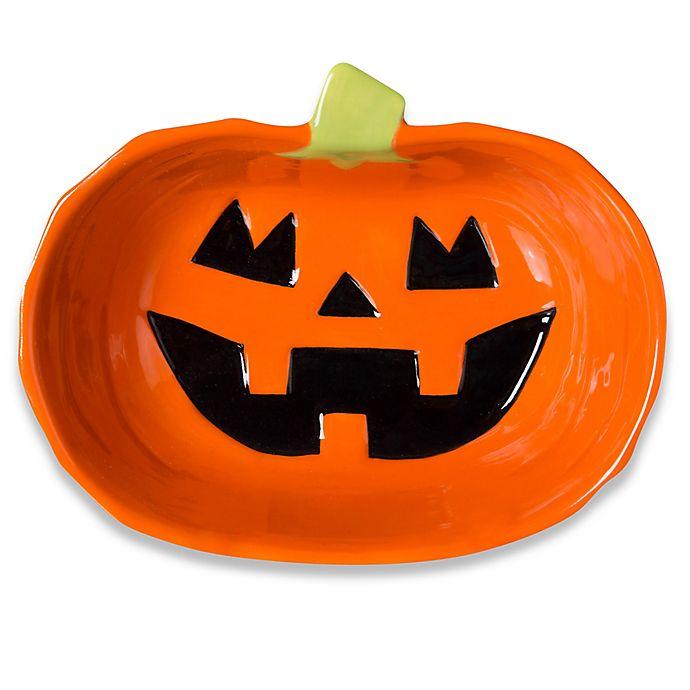 Alternate image 1 for Ceramic Pumpkin Bowl