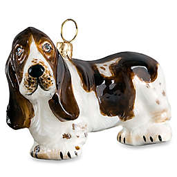 Pet Set Joy to the World Collectibles Basset Hound Christmas Ornament