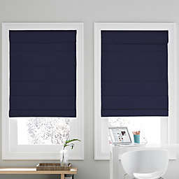 Real Simple® Cordless Roman Cellular 56-Inch x 72-Inch  Shade in Navy