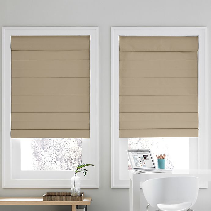 Alternate image 1 for Real Simple® Cordless Cellular 72-Inch Roman Shade