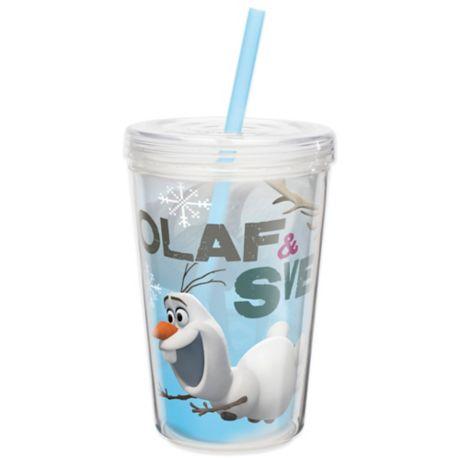 Zak Designs 174 Disney 174 Frozen Olaf 13 Ounce Double Wall