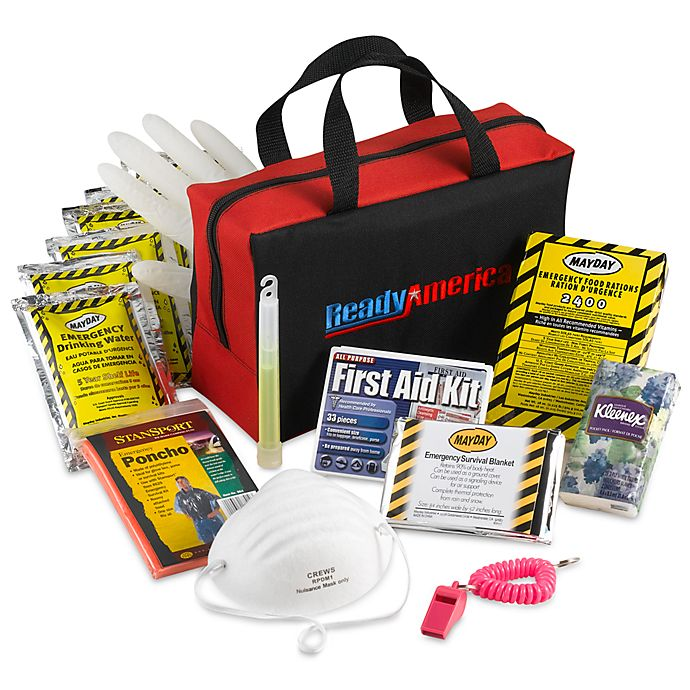 Alternate image 1 for Ready America® Grab N' Go Three-Day Emergency Kit for One Person