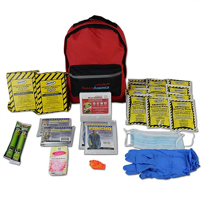 Alternate image 1 for Ready America® 2 Person 3 Day Emergency Kit