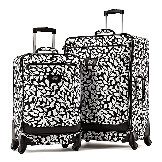 Alternate image 1 for American Tourister® Color Your World 2-Piece Luggage Set in Floral