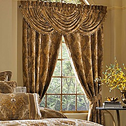 J. Queen New York™ Bradshaw 84-Inch Rod Pocket Window Curtain Panel Pair in Natural
