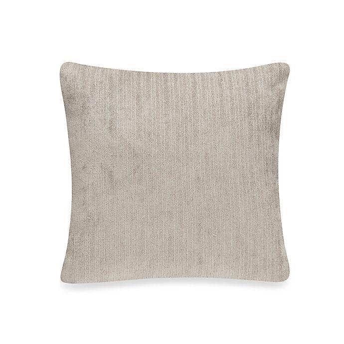 Alternate image 1 for Glenna Jean Rhythm Velvet Throw Pillow in Grey