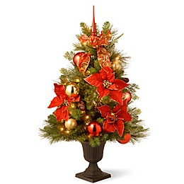 National Tree Company Home for the Holidays 3-Foot Pre-Lit Entrance Christmas Tree