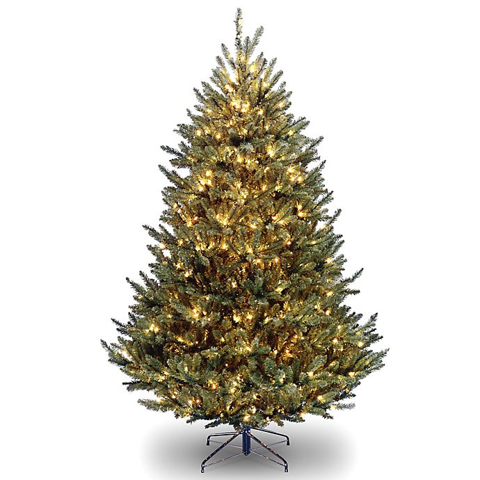 Alternate image 1 for National Tree Company Natural Fraser Pre-Lit Holiday Collection