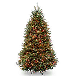 National Tree Company™ 6.5-Foot Pre-Lit Dunhill Fir Christmas Tree with Multi-Color Lights