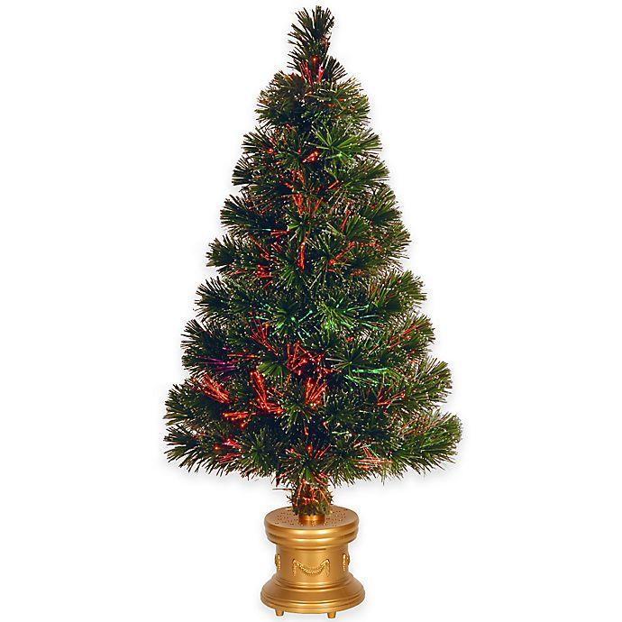 7 5 Fiber Optic Christmas Tree: National Tree 32-Inch Fiber Optic Fireworks Evergreen