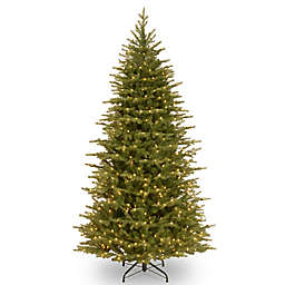National Tree Feel Real® 7.5-Foot Nordic Spruce Slim Pre-Lit Christmas Tree with Clear Lights