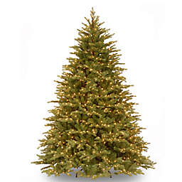 National Tree Feel Real® 7.5-Foot Nordic Spruce Pre-Lit Christmas Tree with Clear Lights