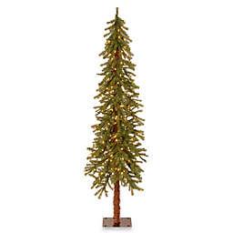 National Tree Company Pre-Lit Hickory Cedar Christmas Tree with Clear Lights