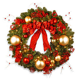Christmas Wreaths Christmas Garlands Bed Bath Amp Beyond