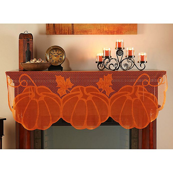 Pumpkin Mantel Scarf Bed Bath Amp Beyond