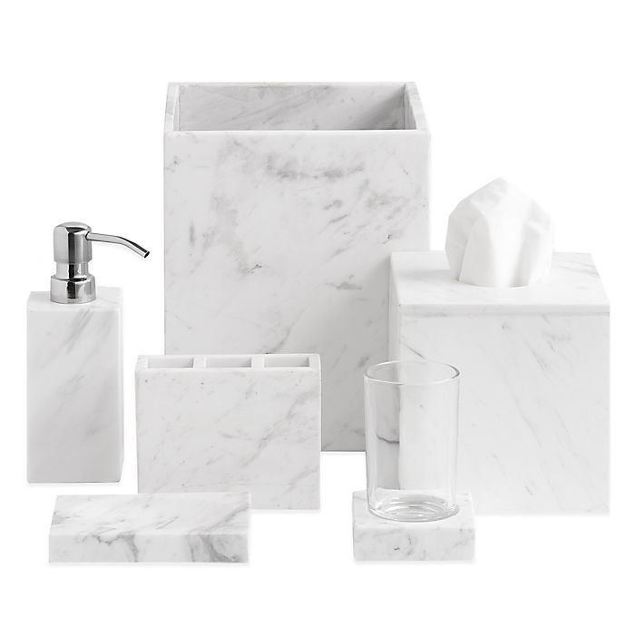 Alternate image 1 for Camarillo Marble Bath Accessory Collection