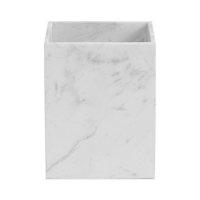 Alternate image 1 for Camarillo Marble Wastebasket