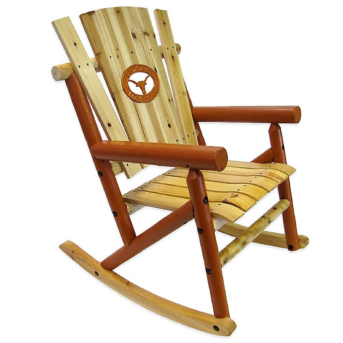 Alternate image 1 for University of Texas Rocking Chair