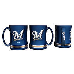 MLB Milwaukee Brewers Sculpted Relief Mug