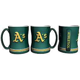 MLB Oakland Athletics Sculpted Relief Mug