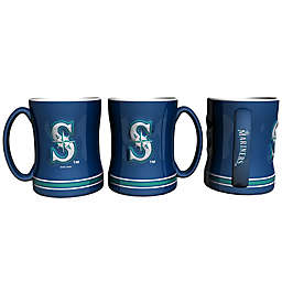 MLB Seattle Mariners Sculpted Relief Mug