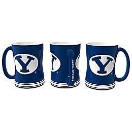 Brigham Young University Relief Mug
