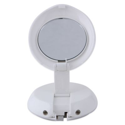 Zadro 1x 10x Led Lighted Compact Magnification Mirror