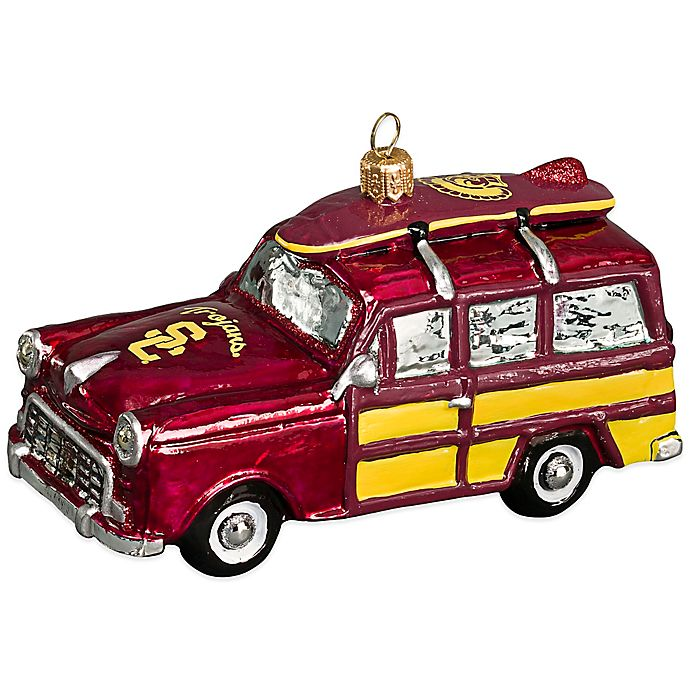 USC Woody Car Christmas Ornament | Bed Bath & Beyond