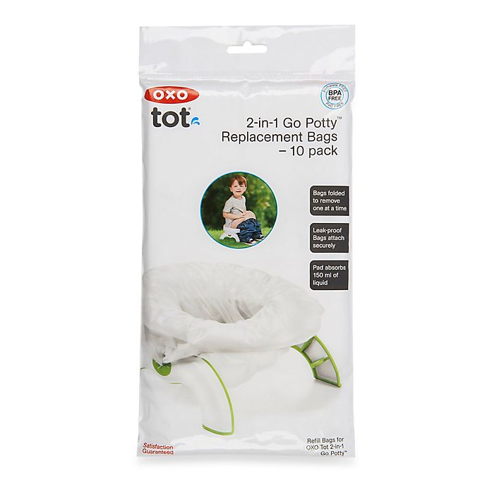 Alternate image 1 for OXO Tot® Go Potty 10-Pack Refill Bags