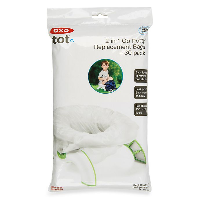 Alternate image 1 for OXO Tot® Go Potty 30-Pack Refill Bags