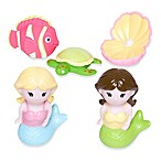 Elegant Baby® Mermaid Party 5-Piece Bath Squirties