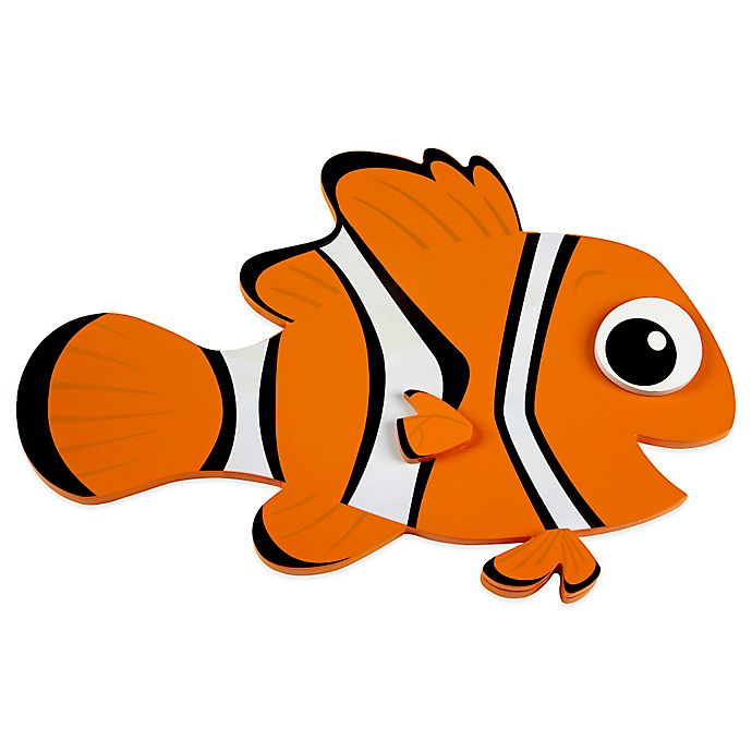 Alternate image 1 for Disney® Nemo Shaped Wall Art