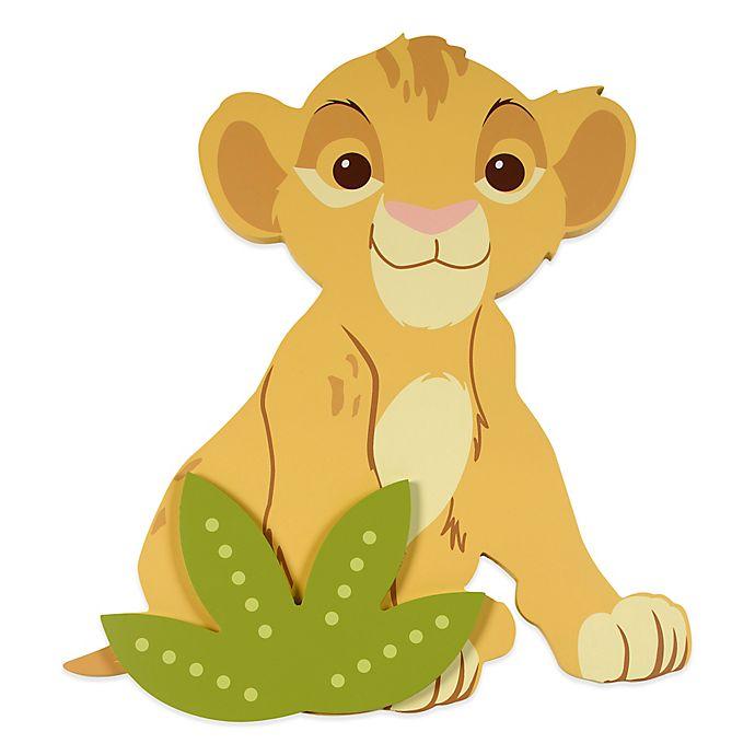 Alternate image 1 for Disney® Lion King Shaped Wall Art