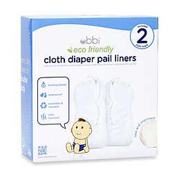 Ubbi® Cloth Diaper Pail Liner Twin Pack
