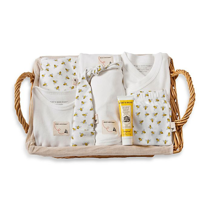 Burt S Bees Baby 174 9 Piece Take Me Home Gift Basket In