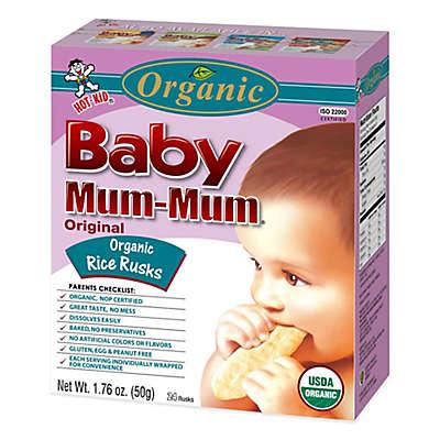 Hot-Kid® 1.76 oz. 24-Count Baby Mum-Mum® Organic Original Rice Biscuits