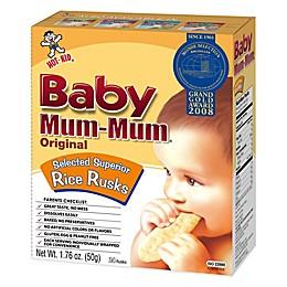 Hot-Kid® 1.76 oz. 24-Count Baby Mum-Mum® Original Selected Superior Rice Biscuits