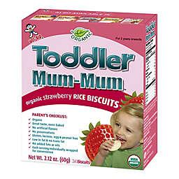 Hot-Kid® 2.12 oz. 24-Count Toddler Mum-Mum® Organic Strawberry Rice Biscuits