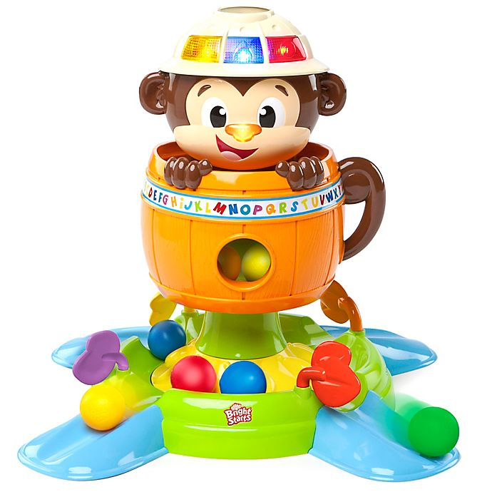 Alternate image 1 for Bright Starts™ Having A Ball™ Hide & Spin Monkey™