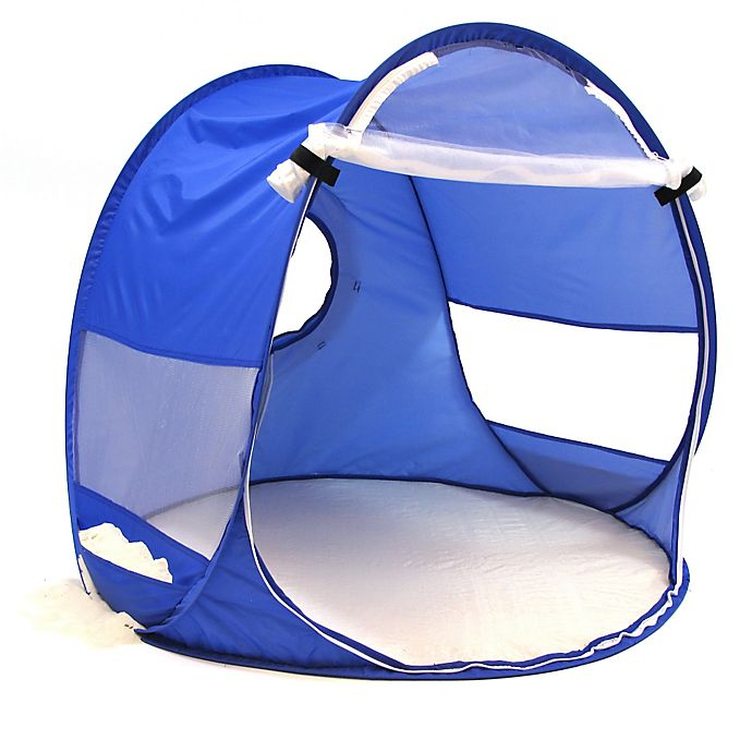 Alternate image 1 for Redmond Beach Baby Pop-Up Shade Dome in Blue